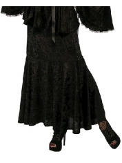 Black Velvet Skirt - Halloween Costumes